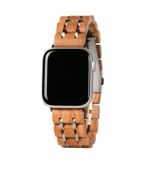 Apple nutikella puidust rihm APPL02